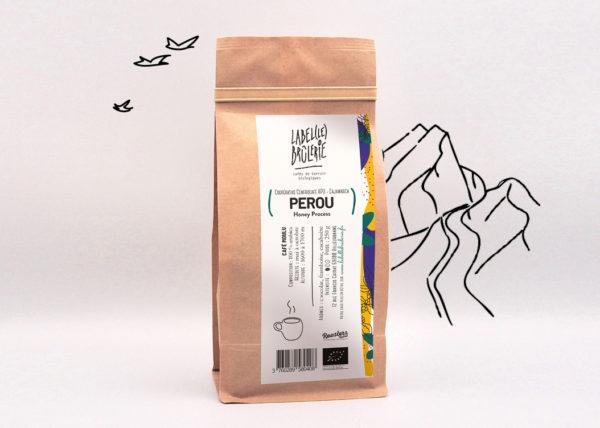 Café bio LBB Pérou Honeuy