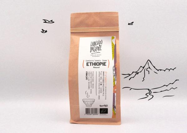 Café bio LBB Ethiopie naturel